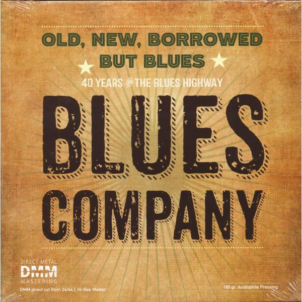 Blues Company Blues Company - Old, New, Borrowed But Blues (2 LP) borrowed time