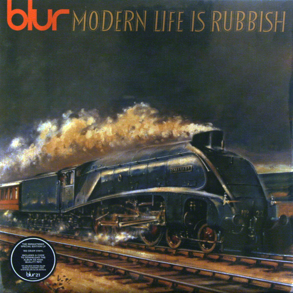BLUR BLUR - Modern Life Is Rubbish (2 Lp, 180 Gr) купить