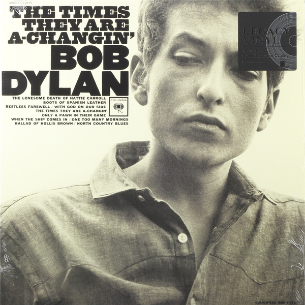 Bob Dylan Bob Dylan - The Times They Are A-changin' cd bob dylan the bootleg series volumes 1 3 rare unreleased 1961 1991