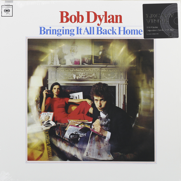 Bob Dylan Bob Dylan - Bringing It All Back Home (180 Gr) wertmark бра wertmark we359 01 001