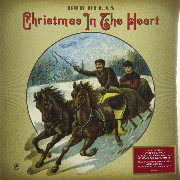 Bob Dylan - Christmas In The Heart (lp + Cd)