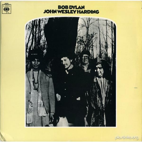 Bob Dylan Bob Dylan - John Wesley Harding (mono, Colour) bob dylan bob dylan bob dylan mono stereo 2 lp 180 gr