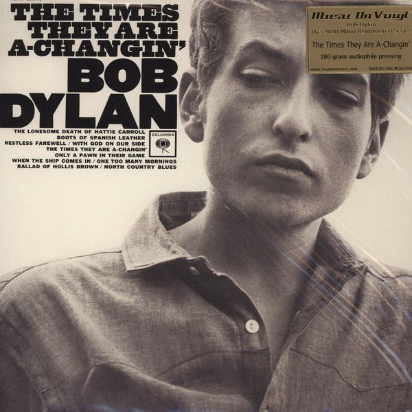 Bob Dylan Bob Dylan - The Times They Are A-changin' bob sinclar a western video story