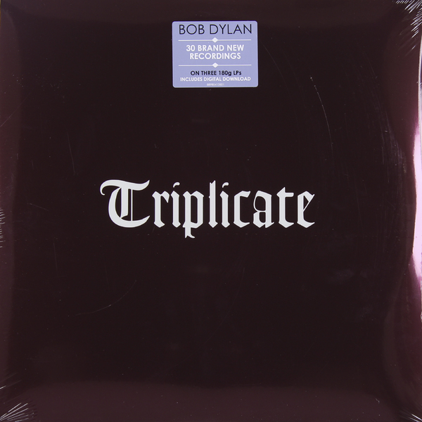 лучшая цена Bob Dylan Bob Dylan - Triplicate (3 Lp, 180 Gr)
