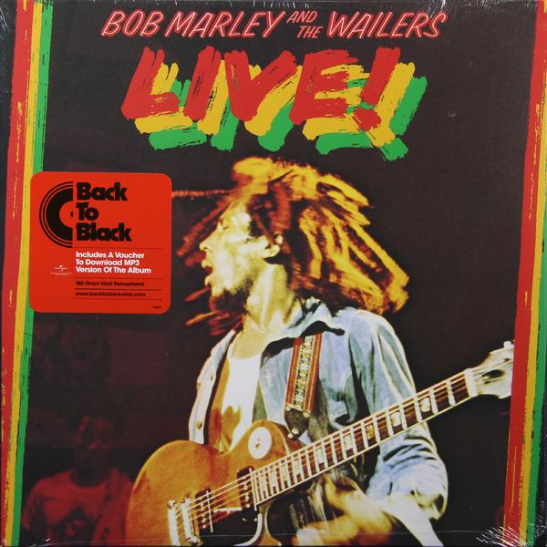Bob Marley Bob Marley - Live! (180 Gr) стоимость