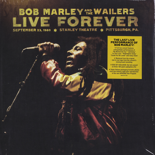 Bob Marley Bob Marley - Live Forever (box Set) bob marley bob marley live