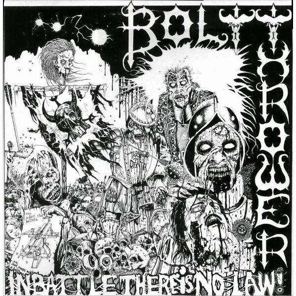 Bolt Thrower Bolt Thrower - In Battle There Is No Law bqlzr 8 inch hairline finish silver security door slide flush latch bolt