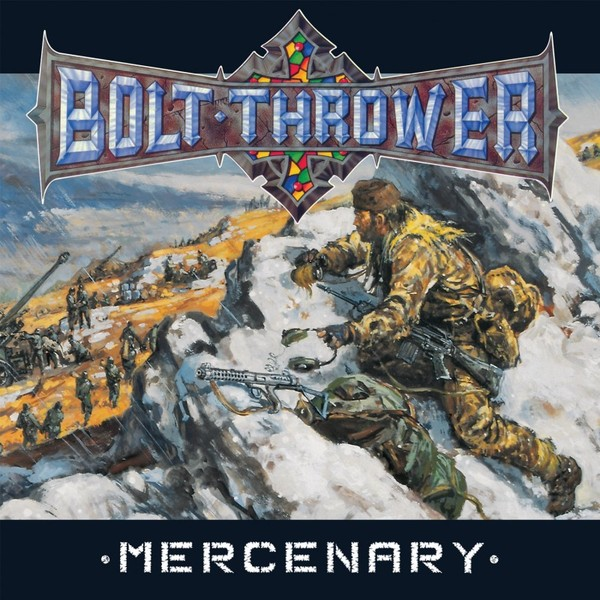 Bolt Thrower Bolt Thrower - Mercenary (180 Gr) high quality 6 8 10 12 sus304 stainless steel door bolt latch lever action flush slide door lock bolt k122