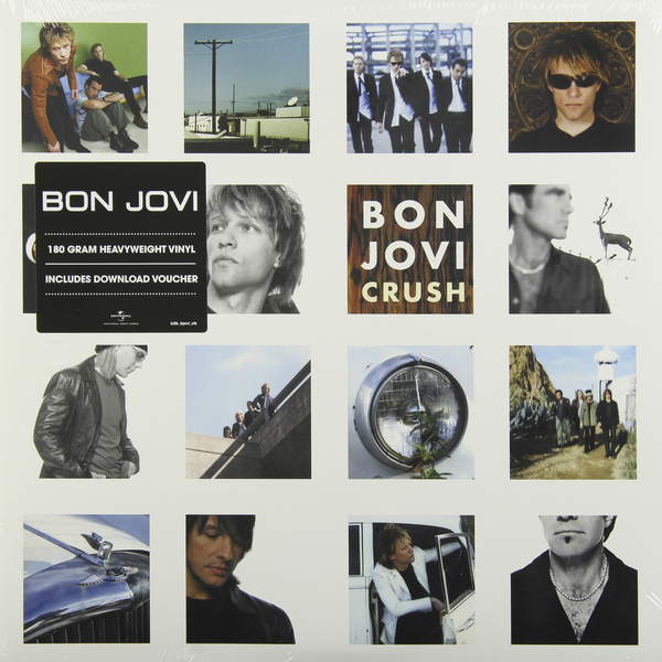 Bon Jovi Bon Jovi - Crush (2 Lp, 180 Gr) bon jovi in their own words