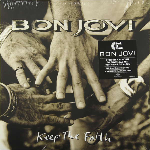 Bon Jovi Bon Jovi - Keep The Faith (2 Lp, 180 Gr) bon jovi bon jovi lost highway 180 gr