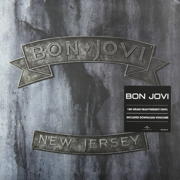 Bon Jovi Bon Jovi - New Jersey (2 Lp, 180 Gr) bon jovi in their own words