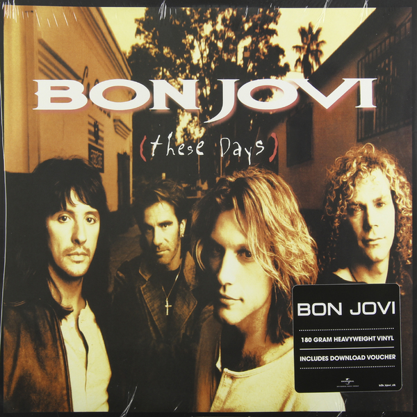 Bon Jovi Bon Jovi - These Days (2 Lp, 180 Gr) bon jovi in their own words