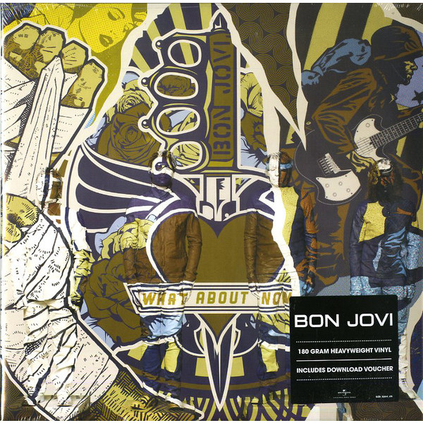 Bon Jovi Bon Jovi - What About Now (2 Lp, 180 Gr) bon jovi in their own words