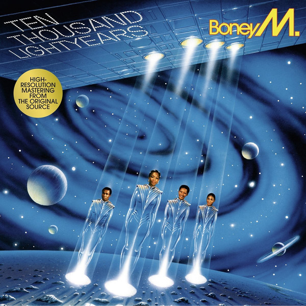 Boney M. Boney M. - 10.000 Lightyears boney m – nightflight to venus lp