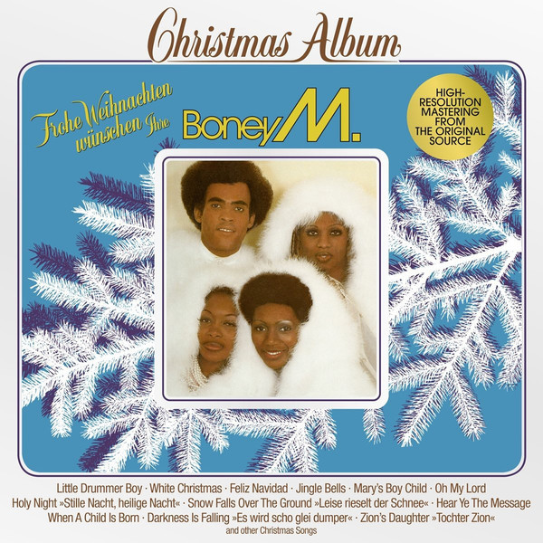 Boney M. Boney M. - Christmas Album boney m – nightflight to venus lp