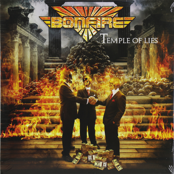 Bonfire Bonfire - Temple Of Lies (yellow)