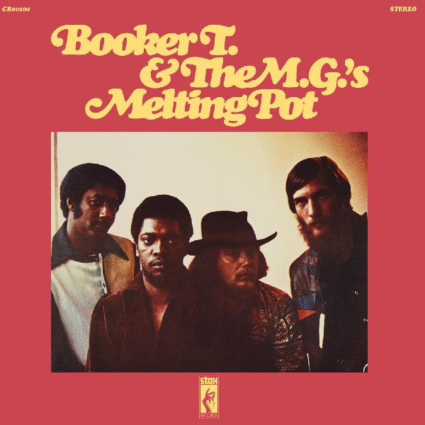 Booker T T. The M. #8206;- Melting Pot (180 Gr)