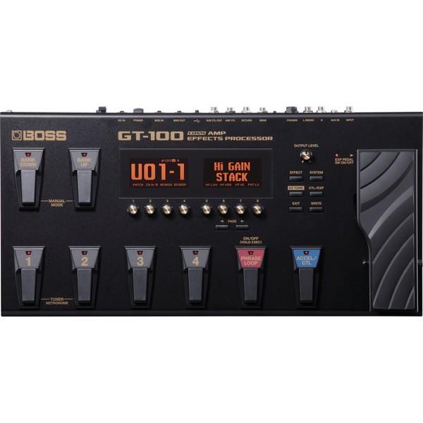 Гитарный процессор BOSS GT-100 boss gt 100