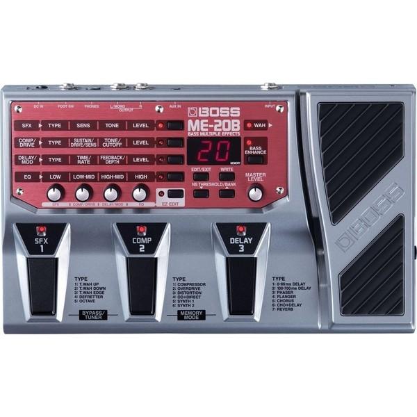 Гитарный процессор BOSS ME-20B гитарный процессор для бас гитары boss me 20b