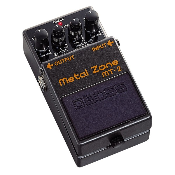 Педаль эффектов BOSS MT-2 boss metal zone mt 2