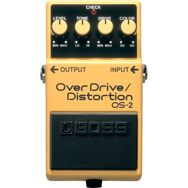 Педаль эффектов BOSS OS-2 педаль эффектов ernie ball 25k stereo volume pedal
