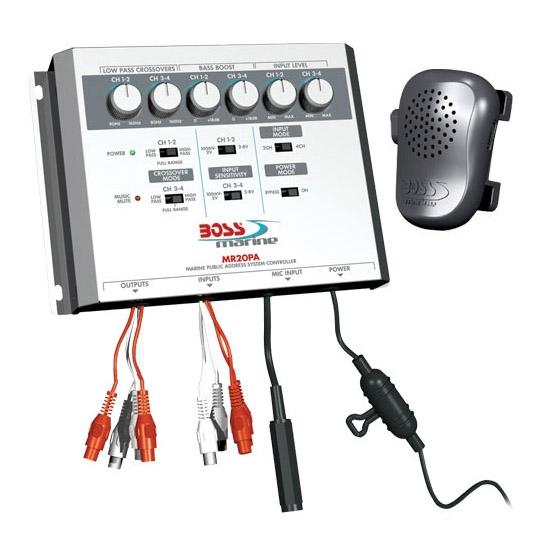 Микшер-процессор BOSS Audio MARINE MR20PA