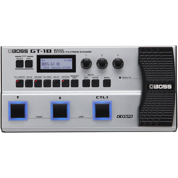 Гитарный процессор BOSS GT-1B вокальный процессор boss ve 20