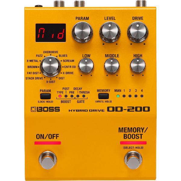 Педаль эффектов BOSS OD-200