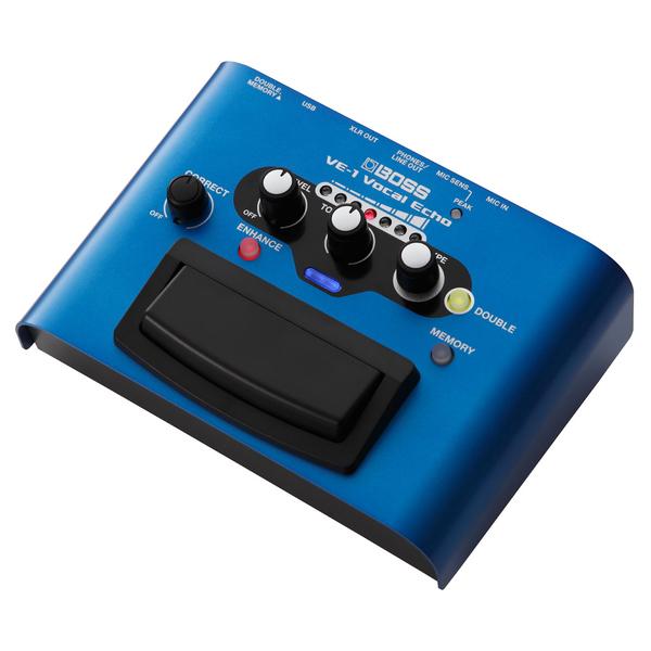Вокальный процессор BOSS VE-1 вокальный процессор boss ve 500