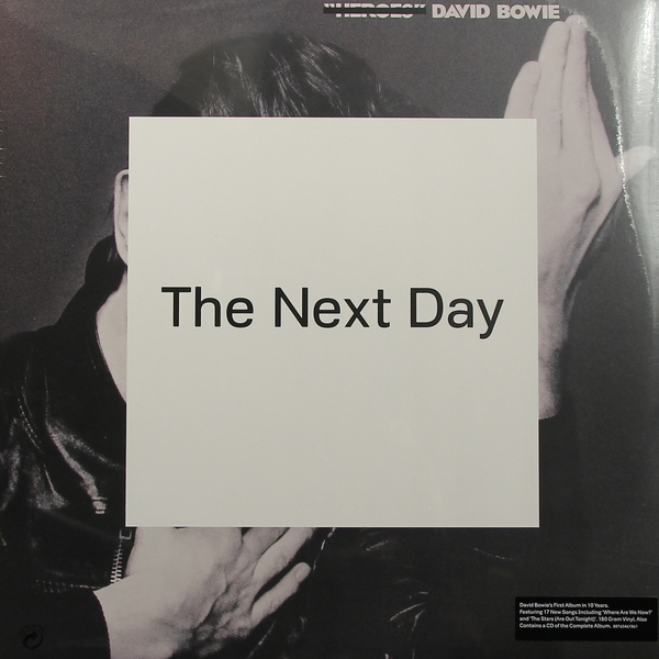 David Bowie David Bowie - Next Day david booth display advertising an hour a day
