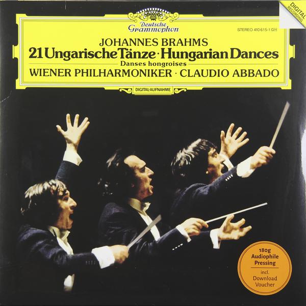 Brahms Brahms - 21 Hungarian Dances (180 Gr) brahms brahms symphony no 4