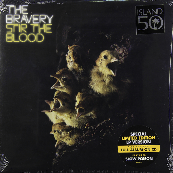 Bravery Bravery - Stir The Blood (lp+cd) шкаф цмо напольный разборный 19 47u 600х1000мм дверь стекло