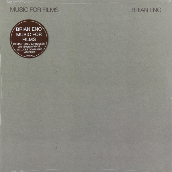Brian Eno Brian Eno - Music For Films (180 Gr)