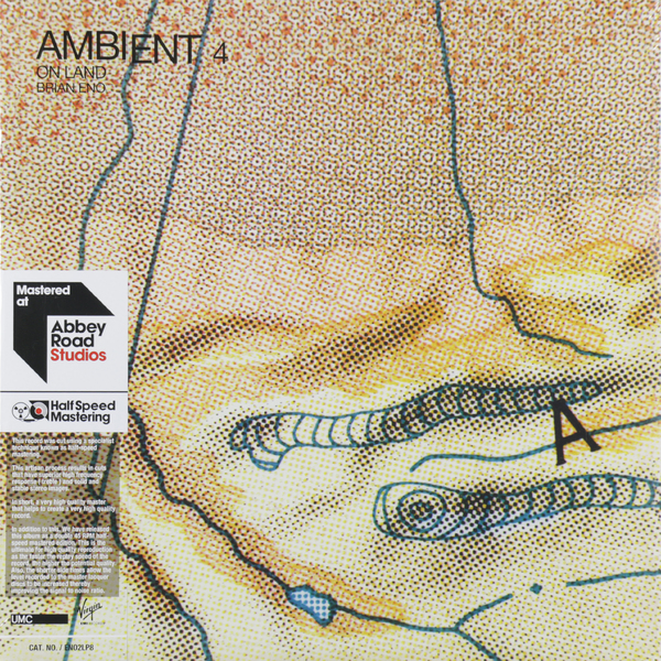 Brian Eno Brian Eno - Ambient 4: On Land (2 Lp, 45 Rpm)