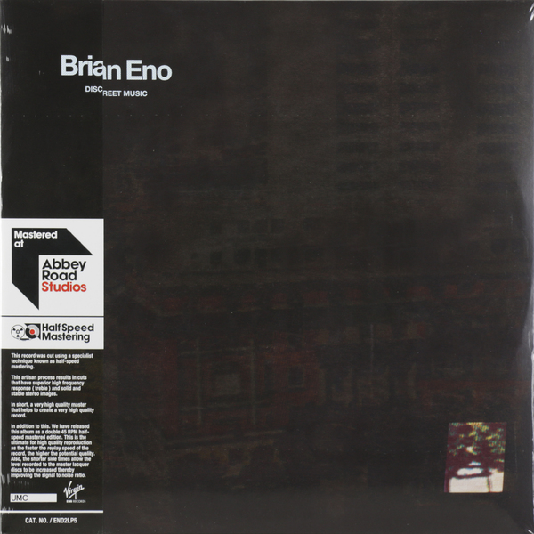 Brian Eno Brian Eno - Discreet Music (2 Lp, 45 Rpm) 5pcs eno tc 16 mini guitar effect pedal over drive