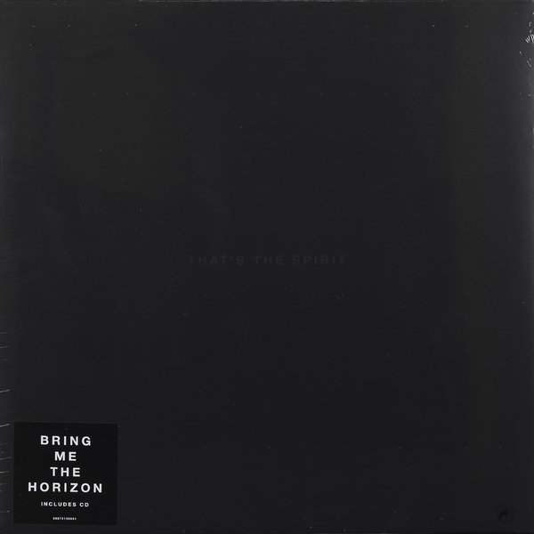 Bring Me The Horizon Bring Me The Horizon - That's The Spirit (lp + Cd) the holy spirit the sanctifying power