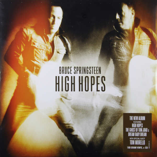 Bruce Springsteen Bruce Springsteen - High Hopes (2 Lp, 180 Gr) bruce springsteen live in dublin blu ray