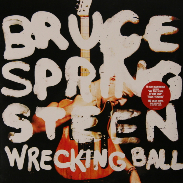 Bruce Springsteen Bruce Springsteen - Wrecking Ball (2 Lp, 180 Gr + Cd) bruce springsteen live in dublin blu ray