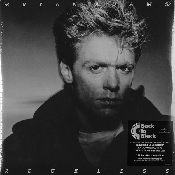 Bryan Adams Bryan Adams - Reckless (2 Lp, 180 Gr) bryan adams tel aviv