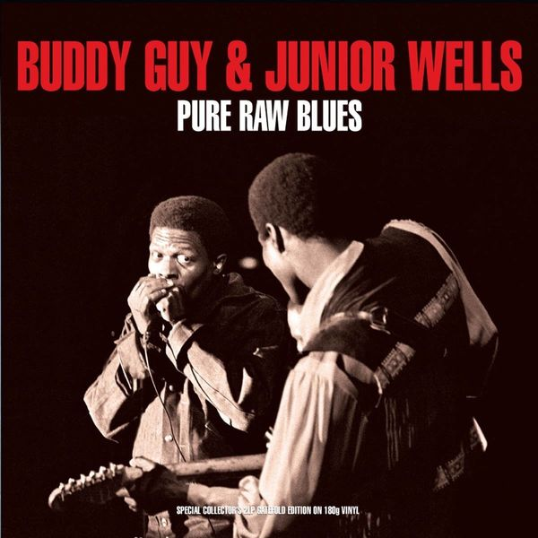 Buddy Guy Buddy Guy Junior Wells - Pure Raw Blues (2 LP) цена 2017