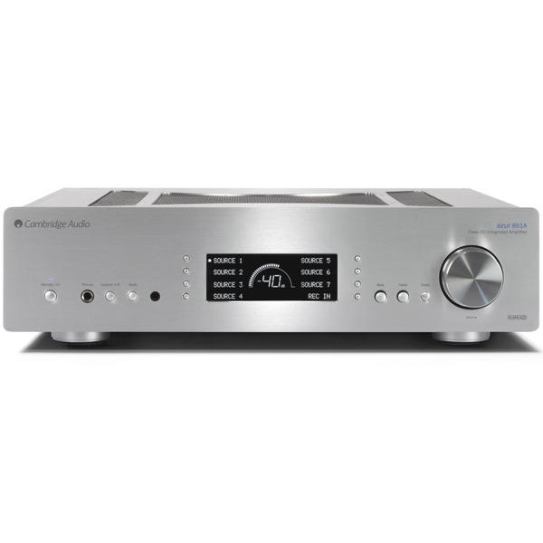 Стереоусилитель Cambridge Audio Azur 851A Silver цены онлайн