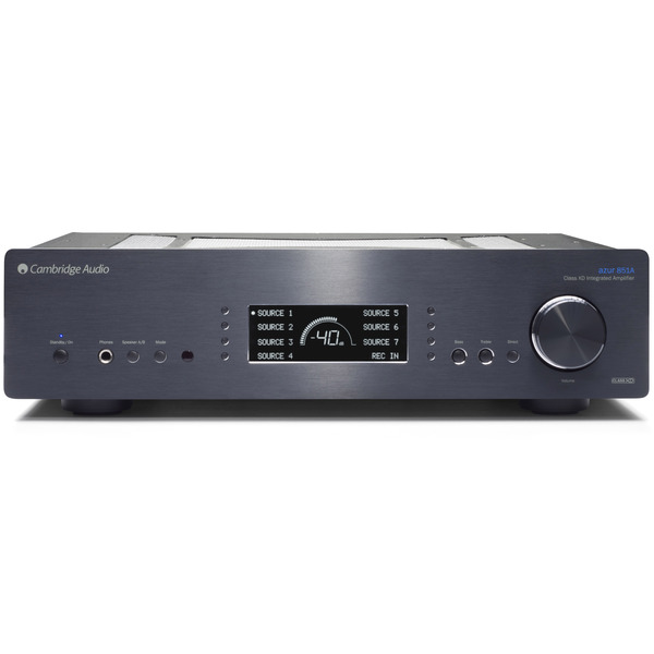 Стереоусилитель Cambridge Audio Azur 851A Black цены онлайн