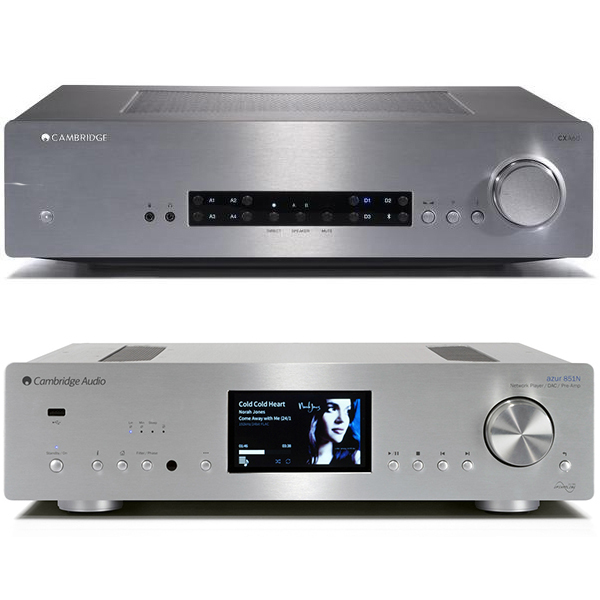 Стереоусилитель Cambridge Audio CXA 60 + 851N Silver стереоусилитель cambridge audio cxa 80 cxn v2 silver