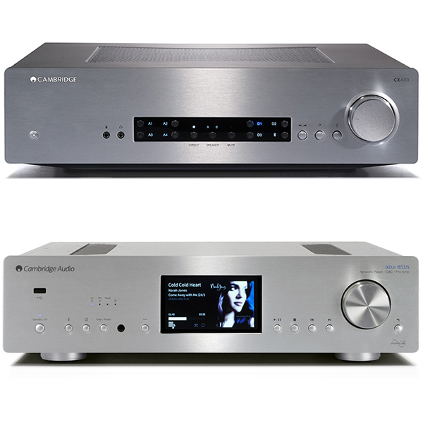 Стереоусилитель Cambridge Audio CXA 80 + 851N Silver стереоусилитель cambridge audio cxa 80 cxn v2 silver