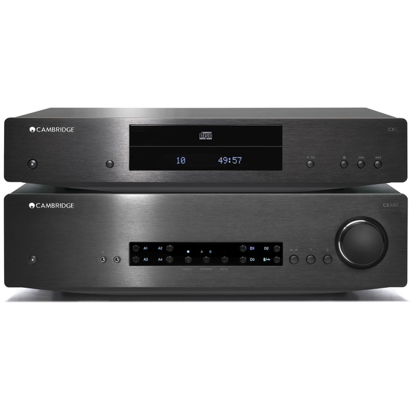 Стереоусилитель Cambridge Audio CXA 80 + CXC Black cerwin vega cxa 8