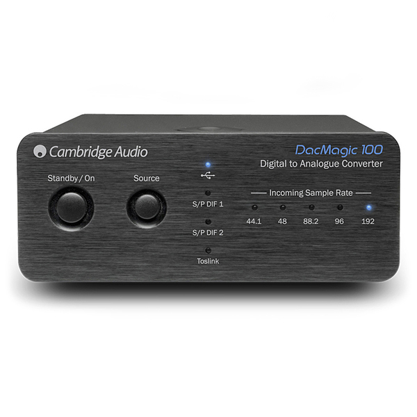 Внешний ЦАП Cambridge Audio DacMagic 100 Black саундбар cambridge audio tvb2 v2 black