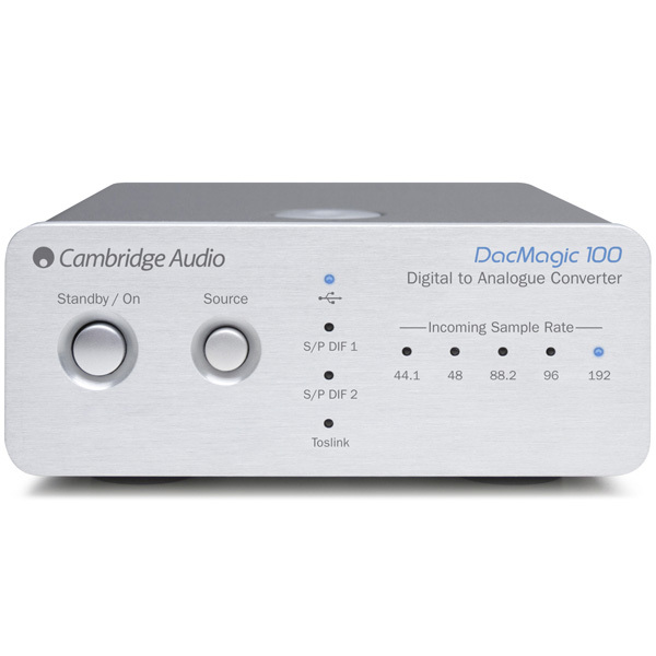 цена на Внешний ЦАП Cambridge Audio DacMagic 100 Silver