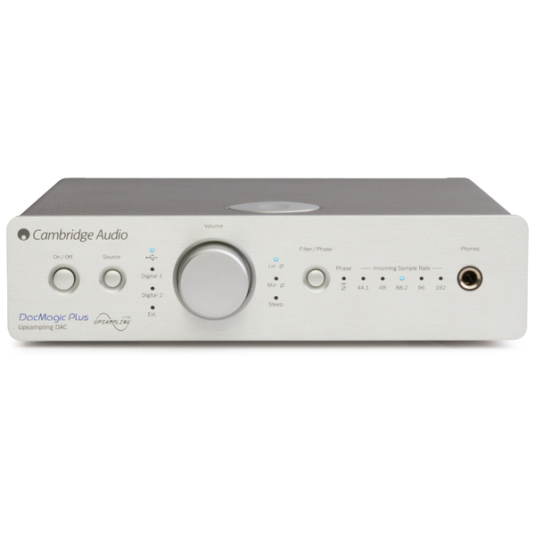 Внешний ЦАП Cambridge Audio DacMagic Plus Silver
