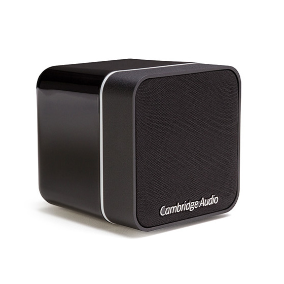 Полочная акустика Cambridge Audio Min 12 Black саундбар cambridge audio tvb2 v2 black