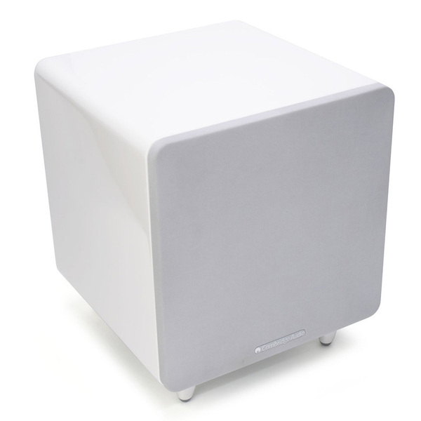 Активный сабвуфер Cambridge Audio Minx X301 White стереоусилитель cambridge audio cxa 60 cxc silver